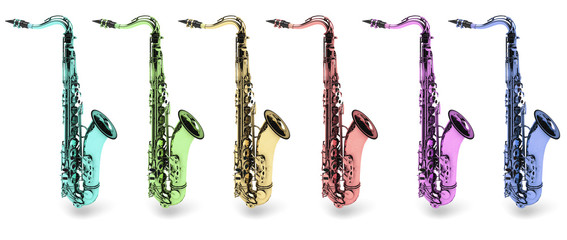 saxotono strumento musicale jazz