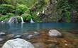 Cascade bassin Trou Noir, La Réunion.