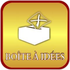 bouton boîte à idées