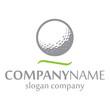 Golf Logo Identity - 34131862