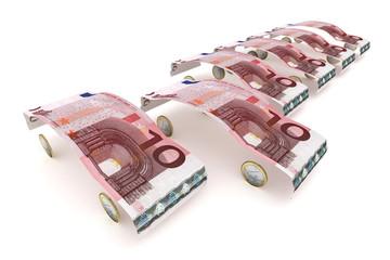 10 Euro Fahrzeugauswahl