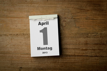 1 April 2013