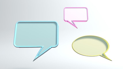 3 conversation icons HD