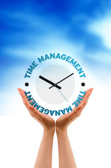 Hand  - Time Management Clock