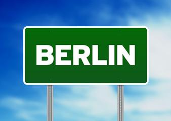 Berlin Road Sign