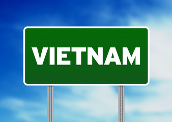 Vietnam Road Sign