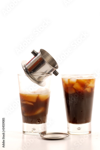 Vietnamese iced coffee