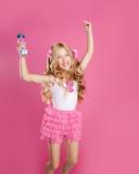 children little star singer like fashion doll with mic