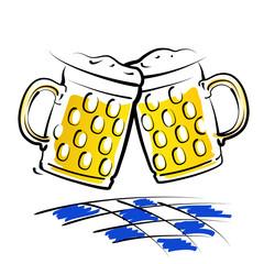 Biergläser Bavaria