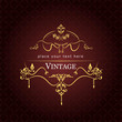 Invitation vintage card. Wedding or Valentine`s Day. Vector illu
