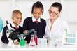 primary school students science experiment