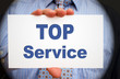 Top Service - Business Concept