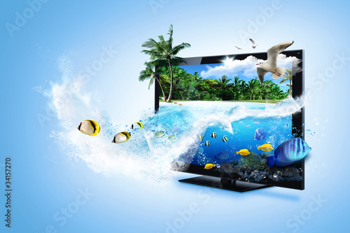 3D TV - feel the nature