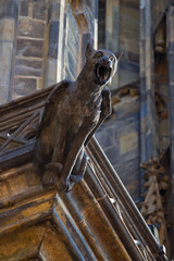 gargoyle in Prague