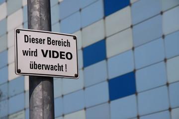 Videoüberwachung !!!