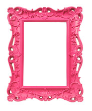 cadre style ancien baroque rose