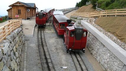 Schafberg, railway