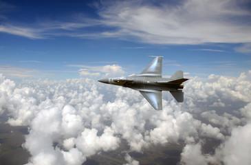 Jetfighter in the sky