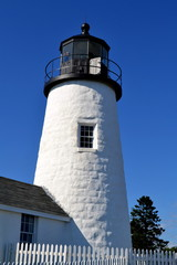Pemaquid Point Lighthouse, Maine USA
