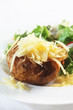 Jacket Potato with Grated Cheddar