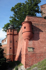fortified wall ,Krakow