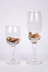 Coins and goblet