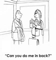 do in back