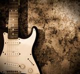 Fototapety Grunge guitar