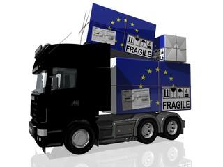 SPEDIZIONE UNIONE EUROPEA UE