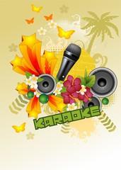 karaoke vert