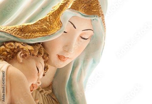 virgin with jesus - 34176643