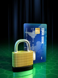 Secure transaction poster