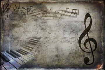 Musical texture vintage