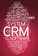 "Word Cloud ""CRM - Customer Relationship Management"""