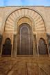 Ornate exterior brass door of Mosque
