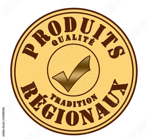 Label produits régionaux