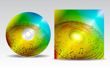 CD cover design template_16