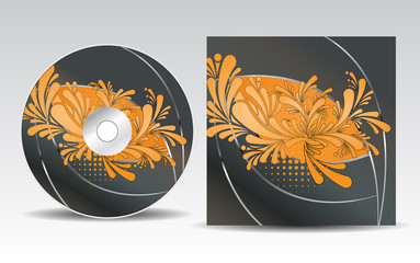 CD cover design template_22