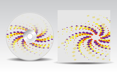 CD cover design template_21