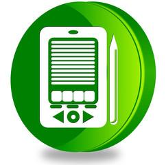 PDA glossy icon