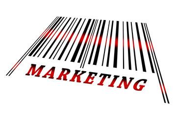 Marketing on barcode