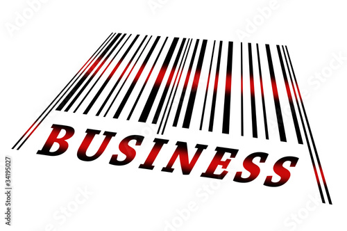 Business on barcode