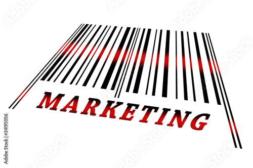 Marketing on barcode