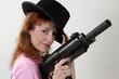 Gal with Gun