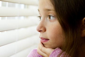 Young Thoughtful Girl