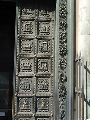 Florence Baptistery - South Portal by Andrea Pisano