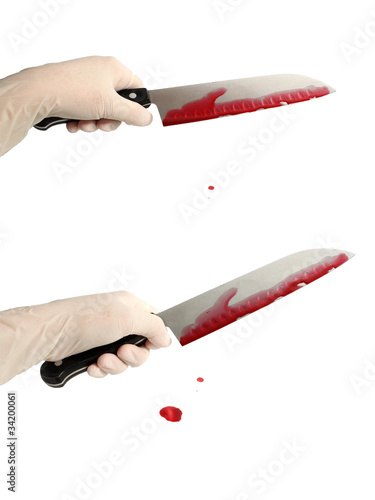 Bloody knife set