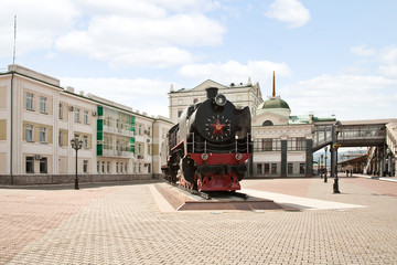 Monument of Trans-Siberian Railway