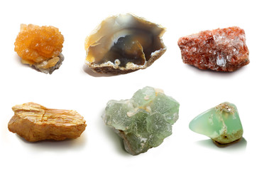 Assorted collection of mineral