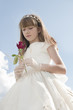 girl communion dress